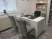Naturheilpraxis Bochum - Besprechungs- und Anamnese-Raum