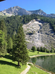 Rautispitz: Gipfel ganz oben links