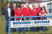 Mitarbeiter der Bergner & Köveker OHG
