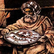 Portrait de al-Battani, d'après Farabi (Farabi, non daté)