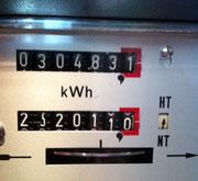 Whirlpool Kosten, Energiekosten