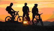 Derzeit Sommerpause beim Dienstagtreff-Mountainbike