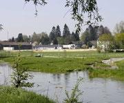 Grundstück vor Baubeginn