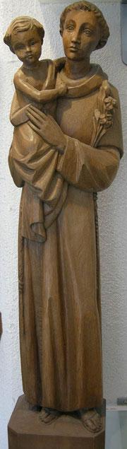 Antonius mit Jesuskind Schnitzerei