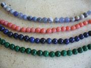Bijoux perles semi-précieuses aimants