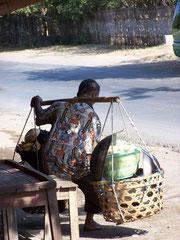 Indonesischer Arbeiter