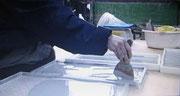 タイルの氷を取るマット ばりばり君整形