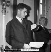 Charlez ar Gall en 1959 © Dielloù Charlez ar Gall