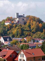 Ausblick auf Burg Falkenstein