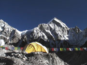Camp de base de l'Everest, Khumbu, Népal