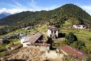 Village Helambu, Népal
