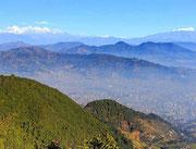 View from Shivapuri Peak