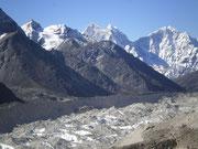 Glacier du Khumbu, Lobuche, Khumbu, Népal
