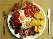 ¡Niños! ¡El desayuno!