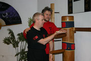 Dai-Sifu Rainer Tausend and Aidan Canavan