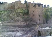 Alcazaba en Romeins theater