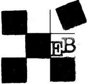 Patchwork-Logo von Evelyn Binder.