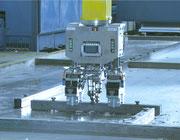 Pinza robot encofrados