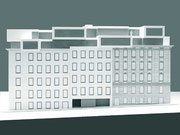 Modell Fassade Obere Amtshausgasse 20-24