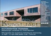 Plakat Truderinger Kunst-Tage 2009