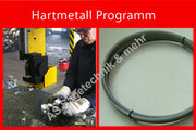 Bandsägebänder Hartmetall