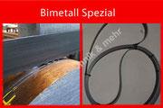 Bandsägebänder Bimetall
