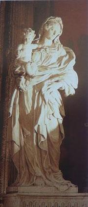 Arnold Hontoire, Vierge à l'Enfant, copyright : M.Lefftz