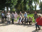 Groupe I dans le parc