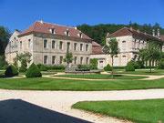 Abbaye de Fontenay-entrée