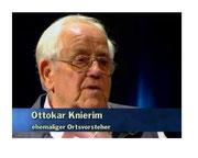 Kenner der Lokalgeschichte: Ottokar Kniereim