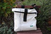 Umhängetasche Hunter, Recyclingtasche, Airbag, Männertasche, Gurtschloss