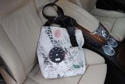 Recyclingtasche, Airbag, Umhängetasche, Gurtschloss, Schrotti