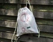 Rucksack Airbag Recyclingtasche, Umhängetasche, Turnbeutel