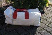 Recyclingtasche, Airbag, Autotasche im Kofferraum