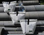 Rollbag, Stern, Rolltasche, Sterntasche, Recyclingtasche, Airbag, Kosmetik