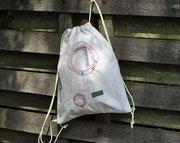 Recylingtasche, Rucksack aus Original Airbag