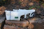 Kosmetiktasche, Amica, Leo, Giraffe, Weihnachtstasche, Recyclingtasche, Airbag