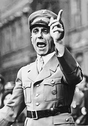 Demagoge Goebbels (Bundesarchiv 102-17049/CC-BY-SA)