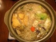 昨日ちゃんこ鍋を作りました。相撲を観てたら食べたくなって。