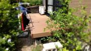 北九州市小倉北区 エクステリアリフォーム ウッドデッキ 人工木