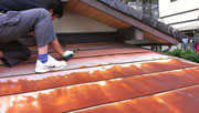 北九州市小倉北区 屋根修理 雨漏り 屋根リフォーム ガルバリウム鋼板