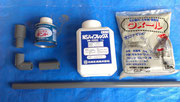 ドレーン+タイル補修(エアコン 配管 排水 タイル補修)