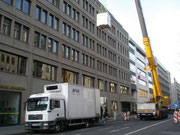 crane hire, Unter den Linden