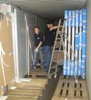 Container Service für Kunst