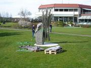 Projekt: Skulpturenaufbau