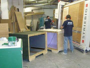 our inhouse carpentry