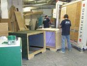 Unsere hauseigene Werkstatt