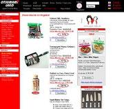 Screenshot des Webshops