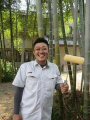 この道15年のベテラン工事部長:増岡