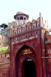Lahore Gate, Rotes Fort, Neu Delhi